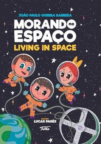 Imagem de Livro - Morando no espaço / Living in space