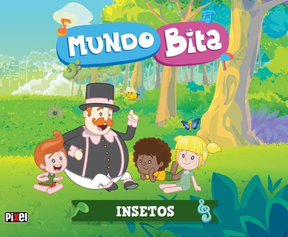Imagem de Livro - Mundo Bita - Insetos