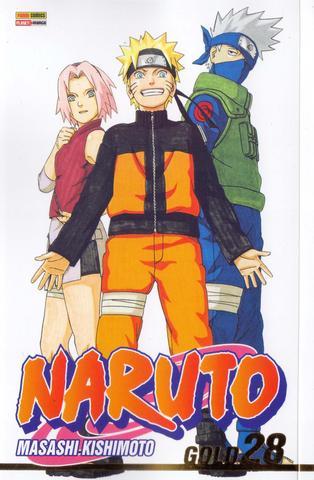 Imagem de Livro - Naruto Gold - Volume 28