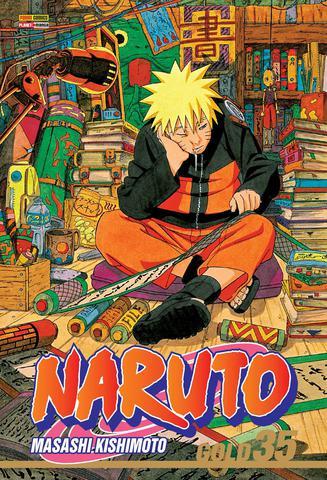 Imagem de Livro - Naruto Gold - Volume 35