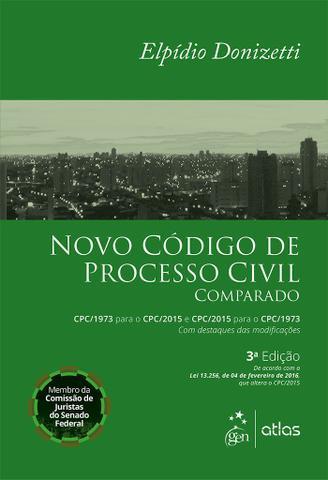 Imagem de Livro - Novo Código de Processo Civil Comparado