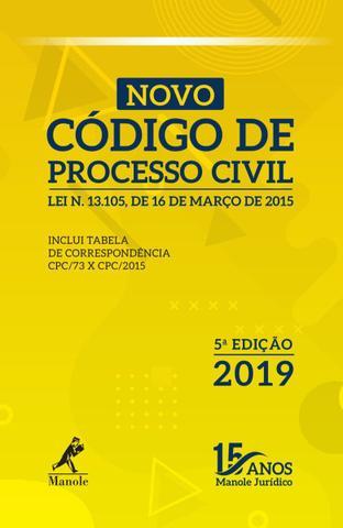 Imagem de Livro - Novo Código de Processo Civil