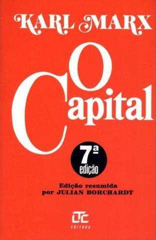 Imagem de Livro - O Capital