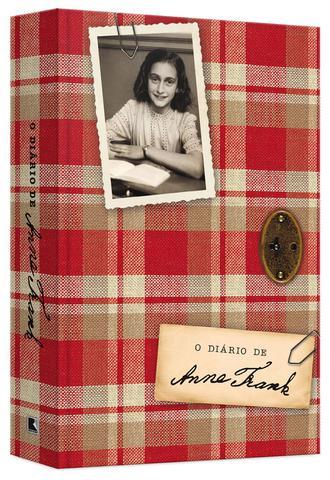 Imagem de Livro - O diário de Anne Frank (edição oficial - capa dura)