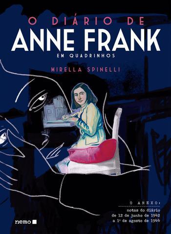 Imagem de Livro - O Diário de Anne Frank em quadrinhos