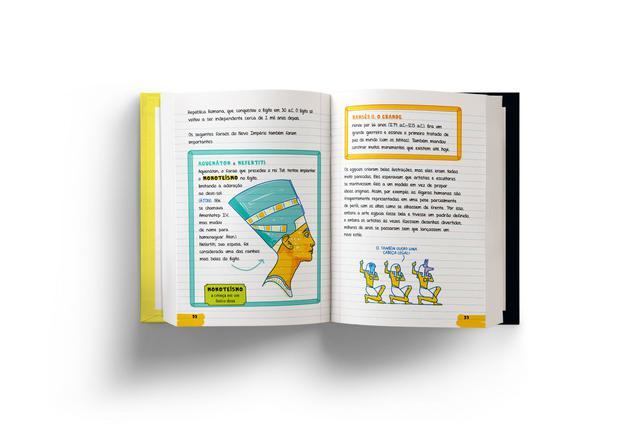 Imagem de Livro - O Grande Livro de História do Manual do Mundo