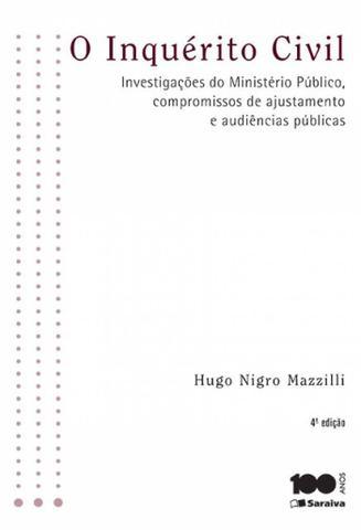 Imagem de Livro - O inquérito civil - 4ª edição de 2015