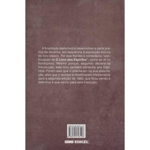 Imagem de Livro - O livro dos médiuns - normal
