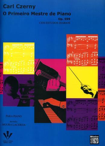 Imagem de Livro - O primeiro mestre de Piano - Op. 599