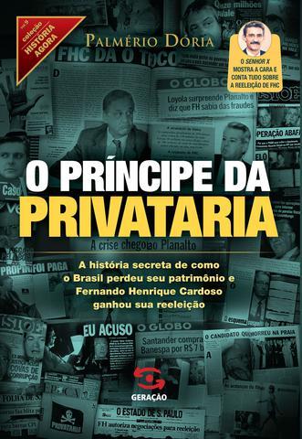 Imagem de Livro - O príncipe da privataria
