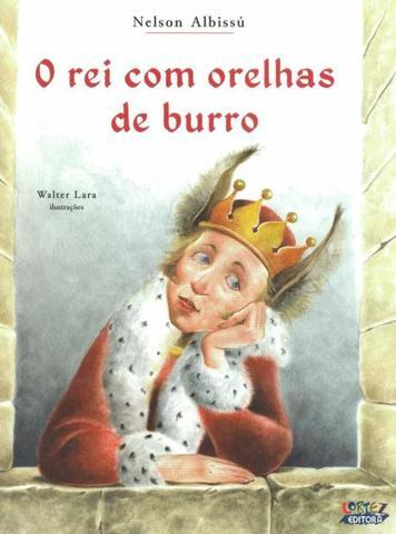 Imagem de Livro - O Rei com orelhas de burro