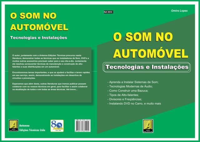 Imagem de Livro O Som no Automóvel. Tecnologias e Instalações. Edição 2006