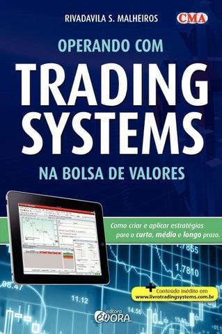 Imagem de Livro - Operando com trading systems na Bolsa de Valores
