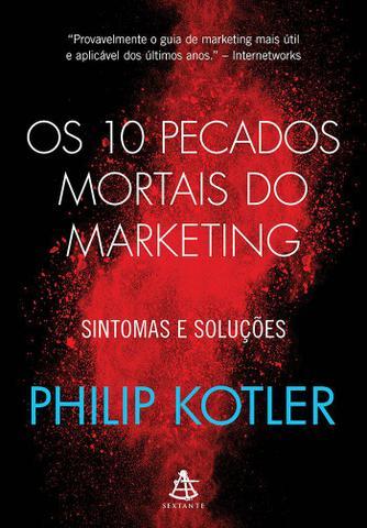 Imagem de Livro - Os 10 pecados mortais do marketing