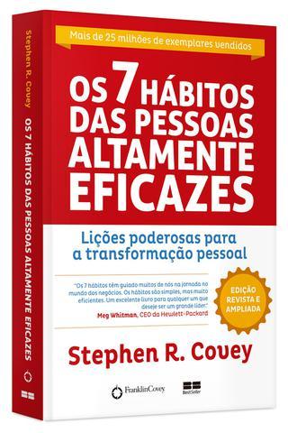 Imagem de Livro - Os 7 hábitos das pessoas altamente eficazes