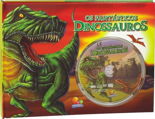 Imagem de Livro - Os fantásticos dinossauros