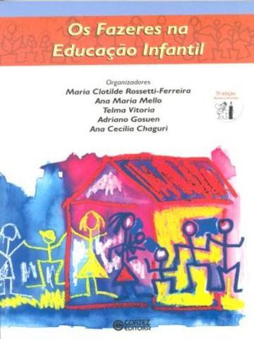 Imagem de Livro - Os fazeres na educação infantil