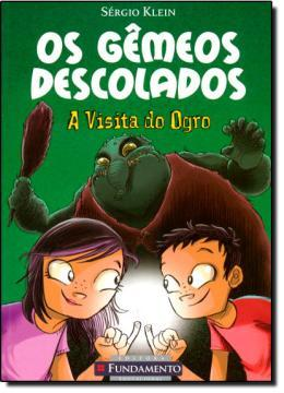 Imagem de Livro - Os Gêmeos Descolados - A Visita Do Ogro