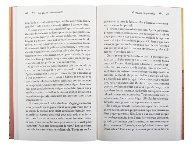 Imagem de Livro - Os quatro compromissos
