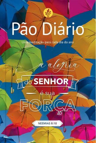 Imagem de Livro - Pão Diário - Alegria do Senhor