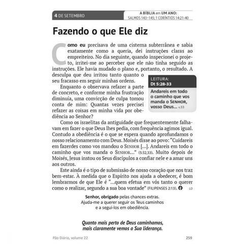Imagem de Livro - Pão Diário vol. 24 - Paisagem