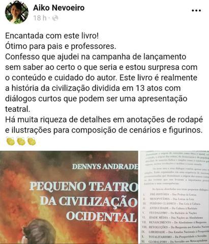 Imagem de Livro Pequeno Teatro da Civilização Ocidental - Bkcc Livros