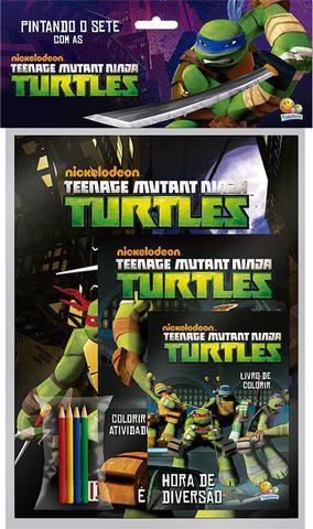 Imagem de Livro - Pintando o sete com...Ninja Turtles