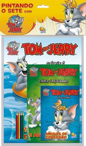 Imagem de Livro - Pintando o sete com...Tom and Jerry
