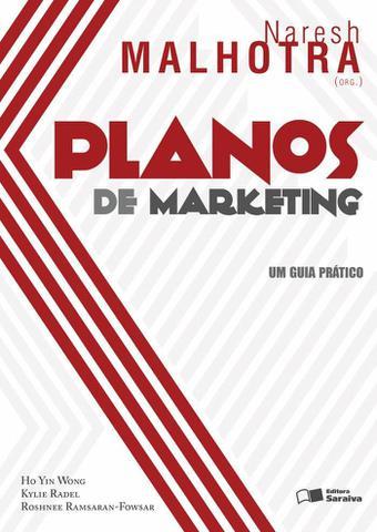 Imagem de Livro - Planos de marketing