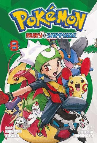 Imagem de Livro - Pokemon Ruby And Sapphire - 08