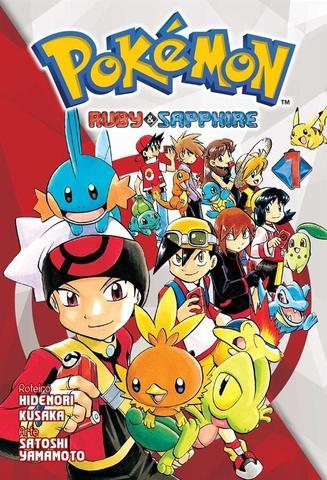 Imagem de Livro - Pokémon Ruby & Sapphire Vol. 1