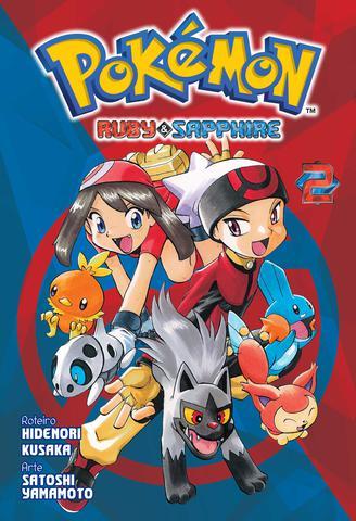 Imagem de Livro - Pokémon Ruby & Sapphire Vol. 2