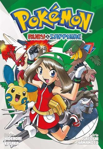 Imagem de Livro - Pokémon: Ruby & Sapphire