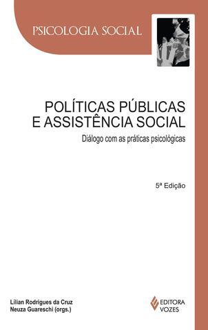 Imagem de Livro - Políticas públicas e assistência social
