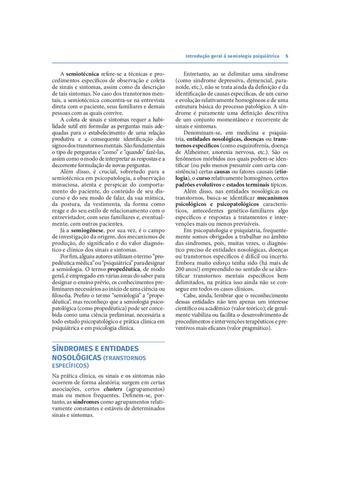 Imagem de Livro - Psicopatologia e Semiologia dos Transtornos Mentais