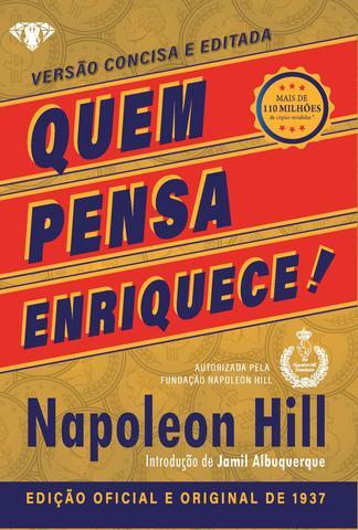 Imagem de Livro - Quem pensa enriquece - LIVRO DE BOLSO