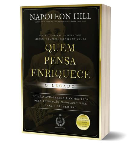 Imagem de Livro - Quem pensa enriquece - o legado