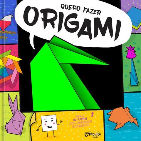 Imagem de Livro - Quero fazer origami
