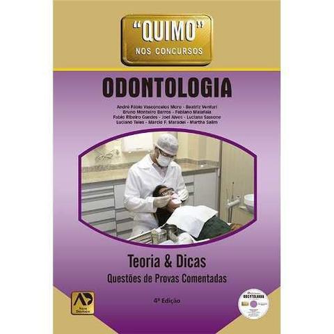 Imagem de Livro Quimo Nos Concursos - Odontologia 4ª Edição