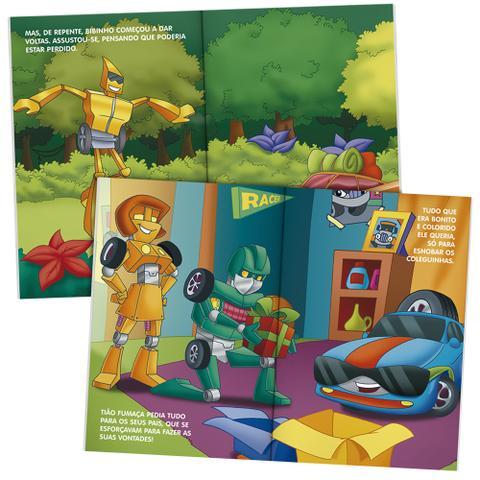 Imagem de Livro - Robots - Carros turbinados - Kit com 10 und.