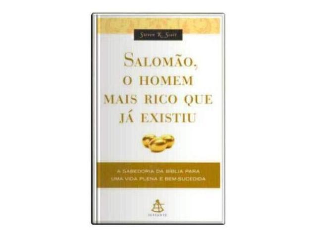 Imagem de Livro - Salomão, o homem mais rico que já existiu
