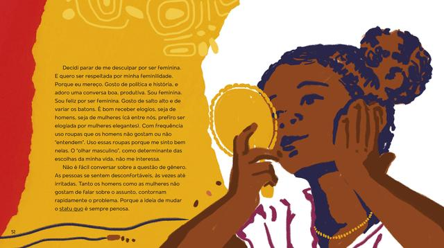 Imagem de Livro - Sejamos todos feministas (edição de luxo ilustrada)