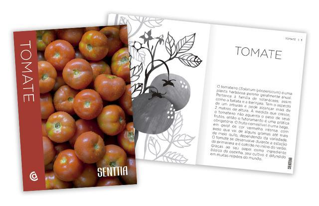 Imagem de Livro - Senttia Tomate
