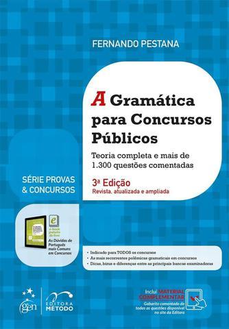 Imagem de Livro - Série Provas & Concursos - A Gramática para Concursos Públicos