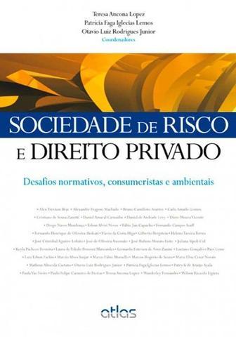Imagem de Livro - Sociedade De Risco E Direito Privado: Desafios Normativos, Consumeristas E Ambientais