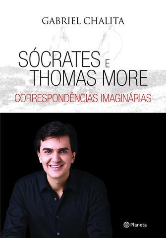 Imagem de Livro - Sócrates e Thomas More - correspondência imaginári