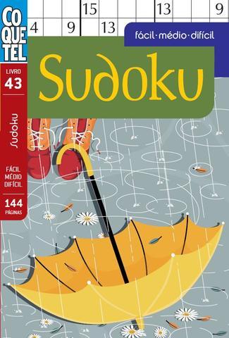 Imagem de Livro - SUDOKU FC/MD/DF-43 S/P