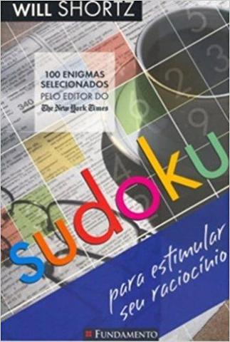 Imagem de Livro - Sudoku Para Estimular O Racíocinio