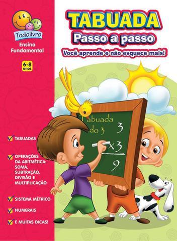 Imagem de Livro - Tabuada passo a passo