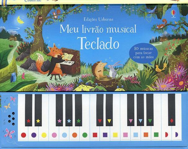 Imagem de Livro - Teclado : Meu livrão musical